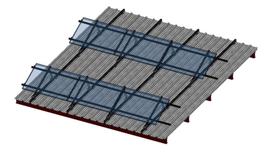 Nika-Ravni krov